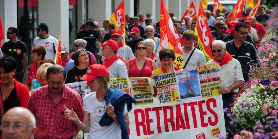 Les retraités se mobilisent contre la hausse de la CSG