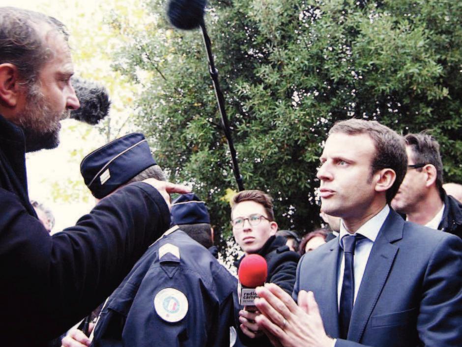Macron contre le monde du travail