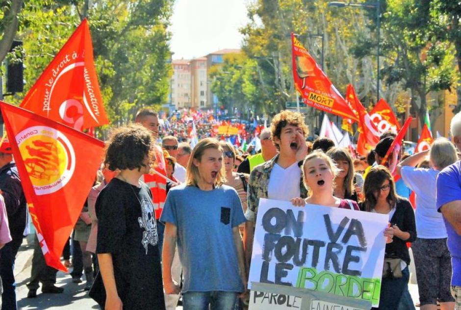 Perpignan. Des milliers de fonctionnaires disent non à Macron