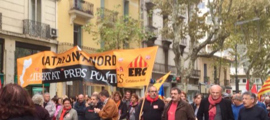 Catalogne Nord. Importante journée de solidarité avec nos frères du sud !