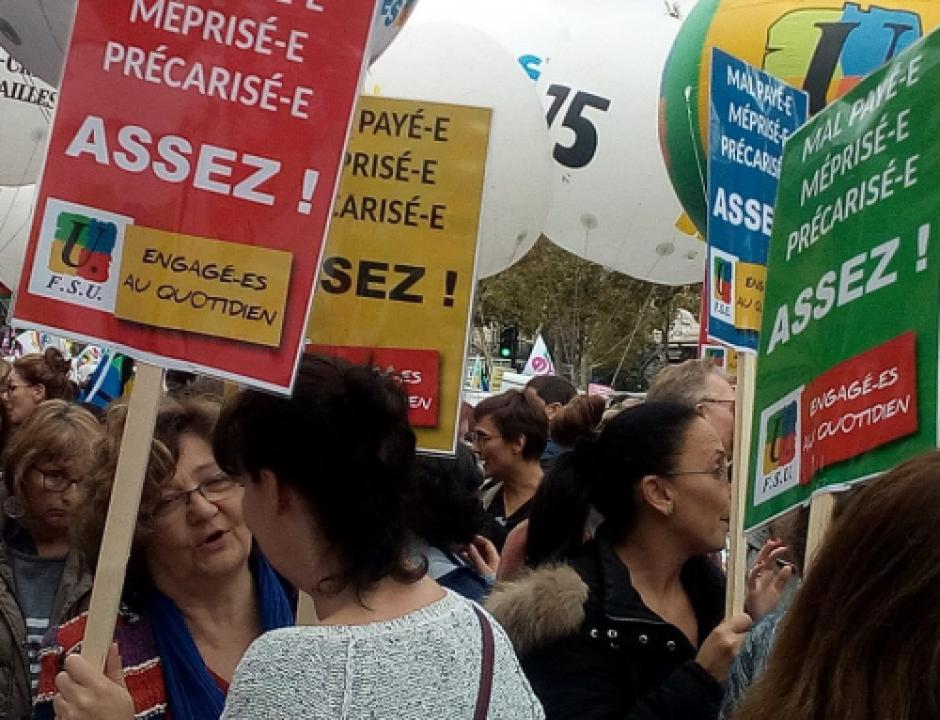 Journée d'action de l'Éducation Nationale