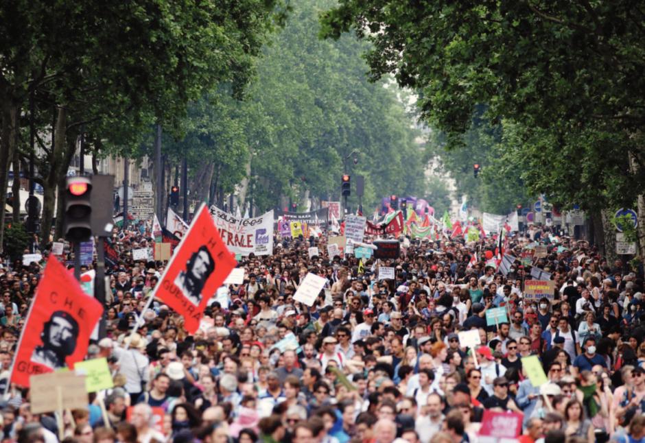 En France. Un front uni porté par 190 rassemblements
