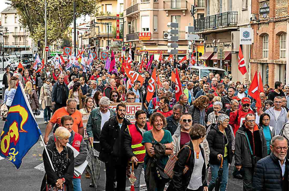 Perpignan. 1.500 personnes dans la rue pour dire « stop à Macron »