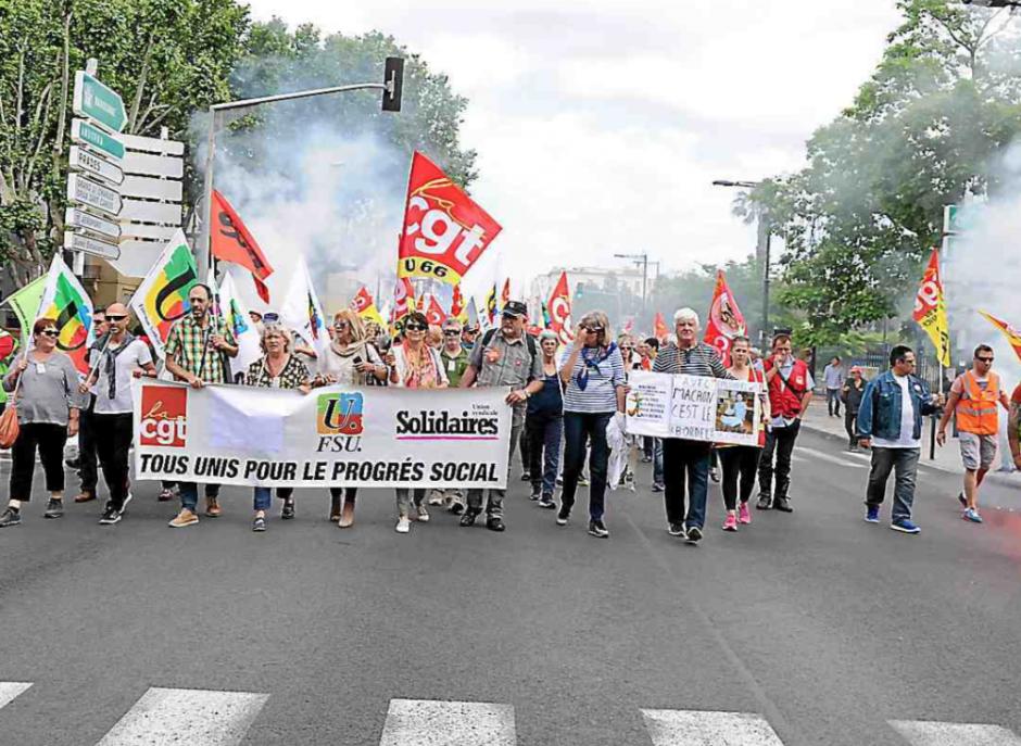 Perpignan. Une « marée humaine » de 3.000 manifestants