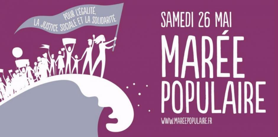 Marée populaire. Rassemblement à 10h devant la gare SNCF de Perpignan pour un défilé en ville