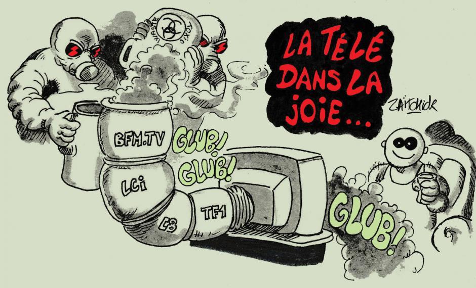 Le billet d'Yvon Huet. Libérons la « médiacratie »