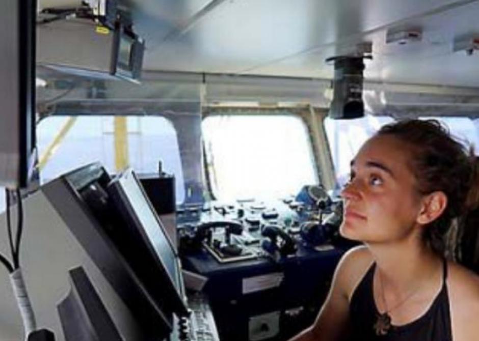 Carola Rackete, 31 ans. Nouveau symbole du sauvetage des migrants en méditerranée
