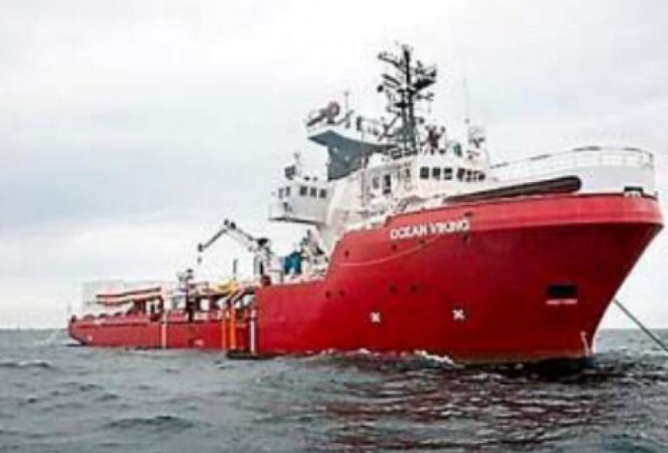 Migrants. L'Océan Viking affrété