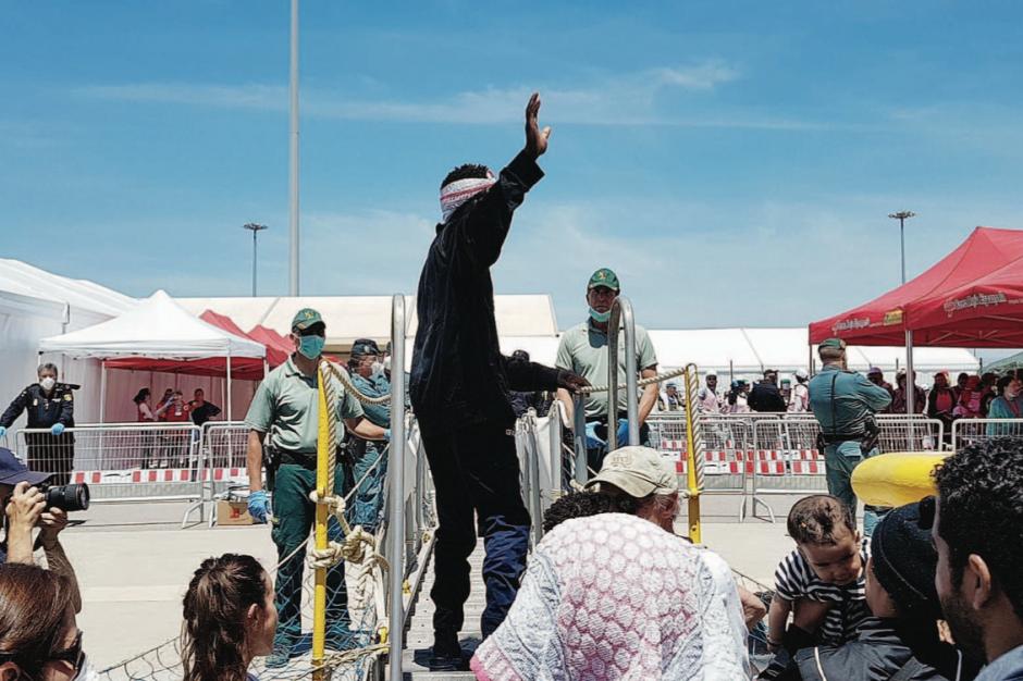 La fin du cauchemar pour les 630 réfugiés sur l'Aquarius
