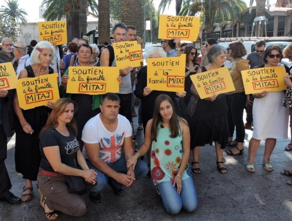 Solidarité avec Amarilda Mitaj et sa famille