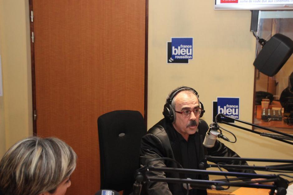 Nicolas Garcia invité de France bleue roussillon