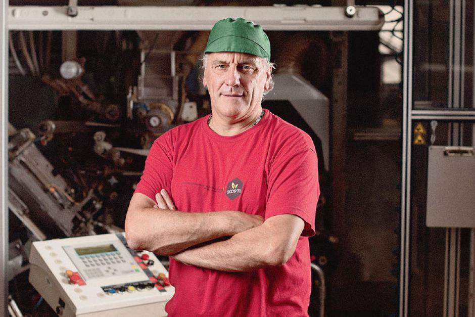 Olivier Leberquier. Le militant CGT devenu patron de coopérative