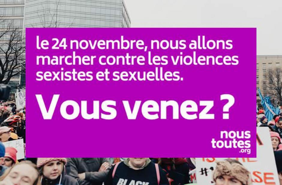 Le PCF 66 soutient la manifestation contre les violences sexistes et sexuelles