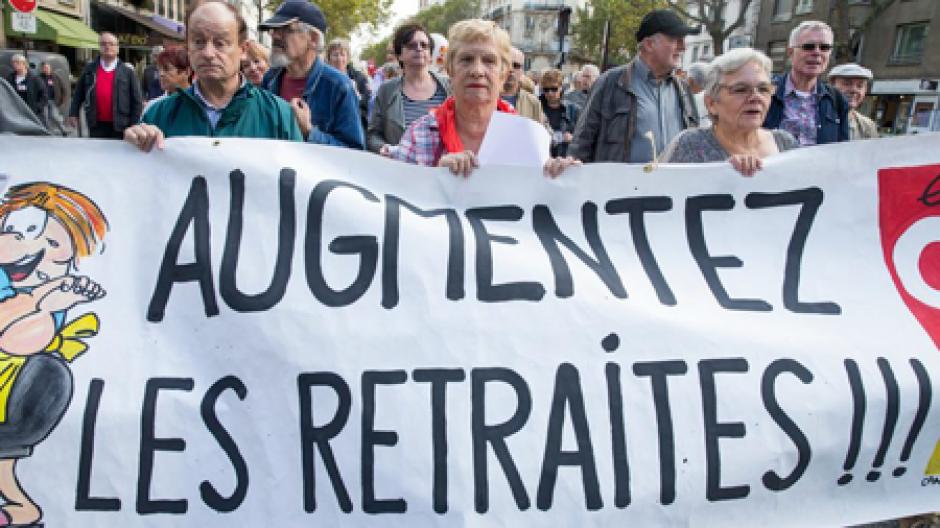 Pour le pouvoir d'achat, le droit à une retraite décente des retraités