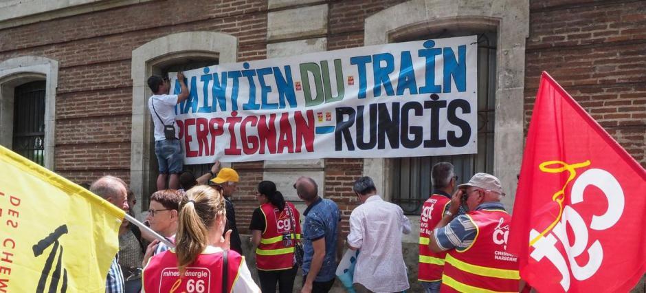 Train Primeur. 37 wagons expédiés à Nîmes