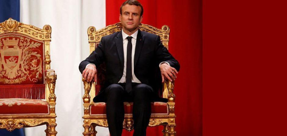 Macron récolte donc les fruits de sa politique