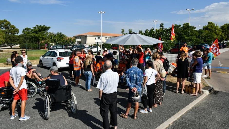 Clinique La Pinède. La grève dure