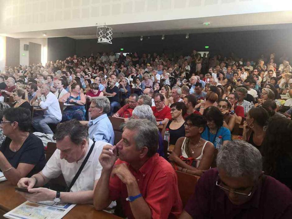 La bataille pour le climat, pour reconstruire la gauche, pour être à l'offensive contre la réforme des retraites, contre la privatisation des aéroports de Paris…