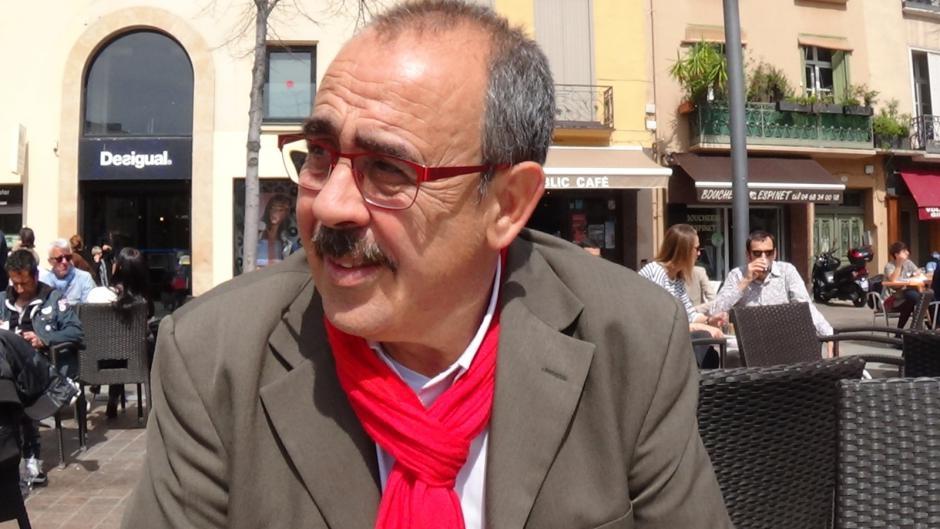 Nicolas Garcia, élu communiste défend la démocratie en Catalogne