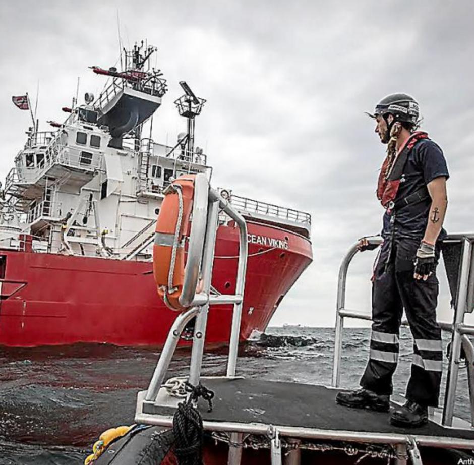 L'Océan Viking en route vers la Libye à la recherche de migrants