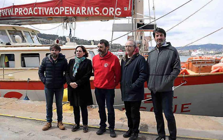 Secours aux migrants. L'Aquarius catalan Assigné à la terre ferme