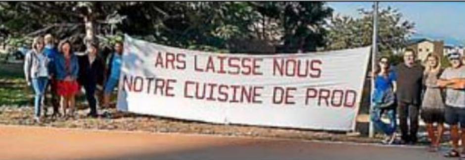 Cuisine de l'Alefpa à Osséja. La colère des salariés s'amplifie