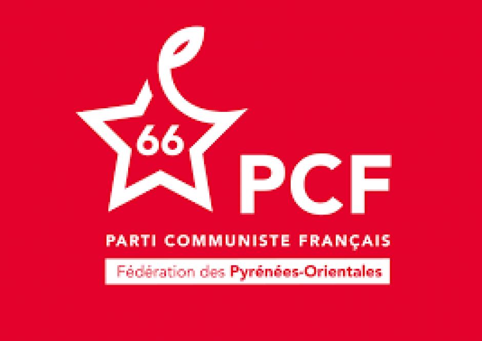 Conférence de presse du PCF 66