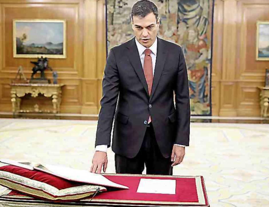 Espagne. Pedro Sanchez a prêté serment