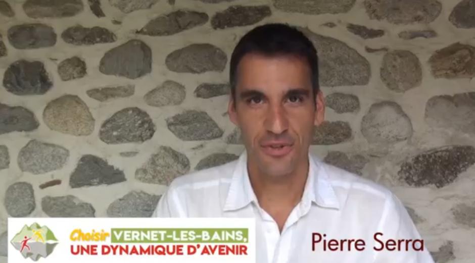 Municipales à Vernet-les-Bains. Remerciement de Pierre Serra aux électeurs de la liste « Vernet-les-Bains, une dynamique d'avenir »