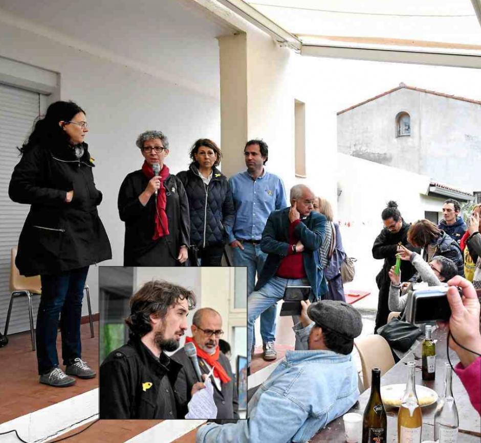 Catalogne. Les familles de prisonniers et exilés politiques catalans reçues à St-Estève