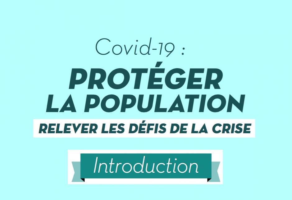 Protéger la population. Relever le défi de la crise (introduction)