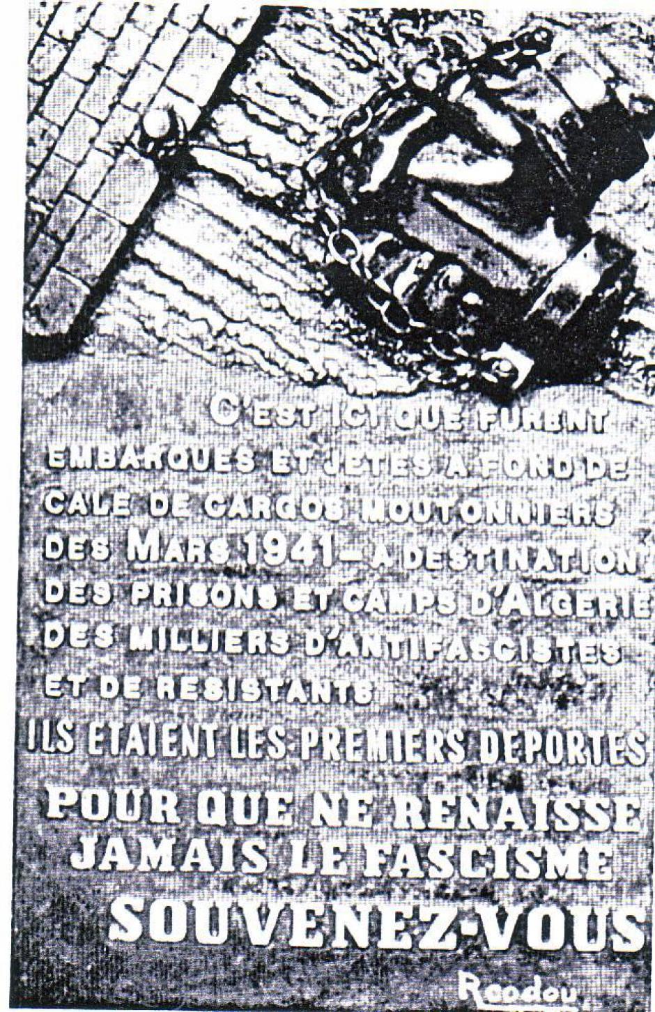 Il y a 80 ans, seize militants des Pyrénées-Orientales étaient «déportés» en Algérie