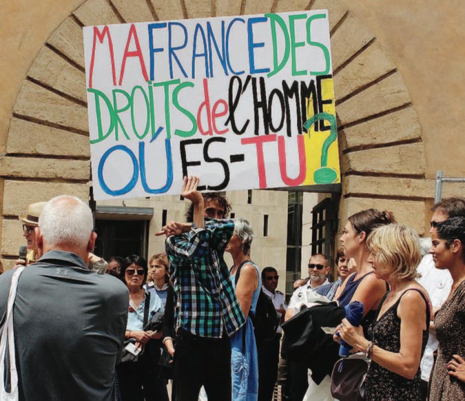 Aide aux réfugiés.Raphaël rejugé à Aix pour délit d'humanité