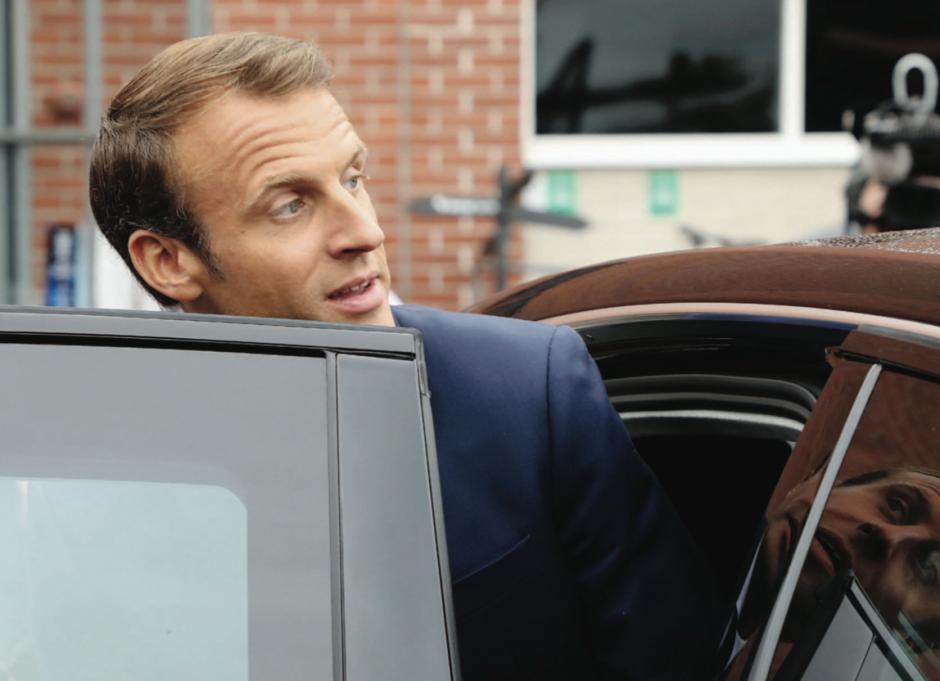 Rentrée chaotique pour l'impopulaire Macron