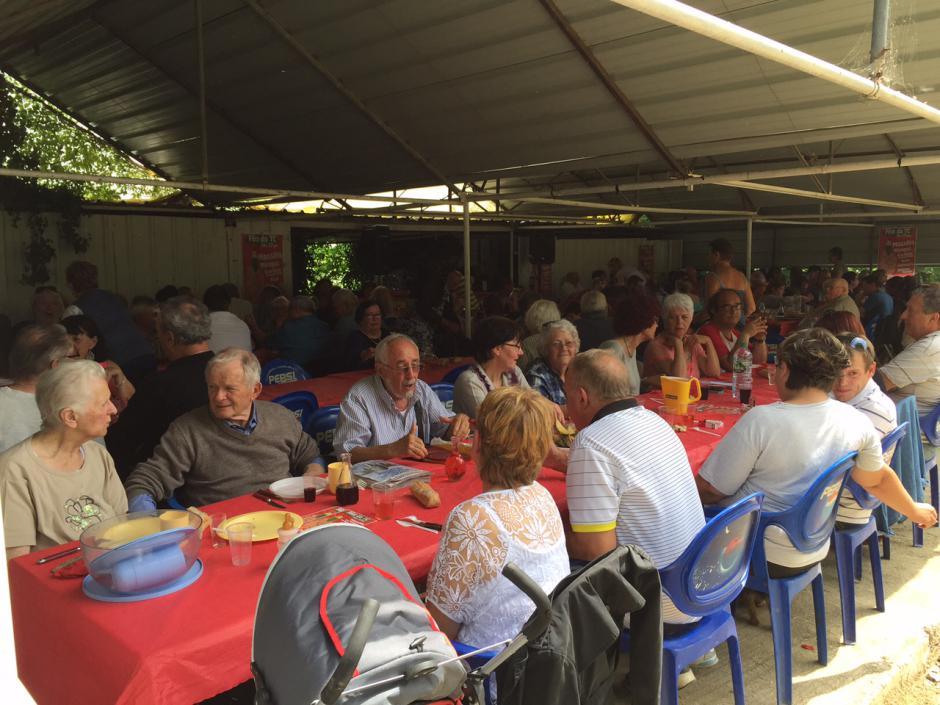 Repas fraternel de la Fête du Travailleur Catalan