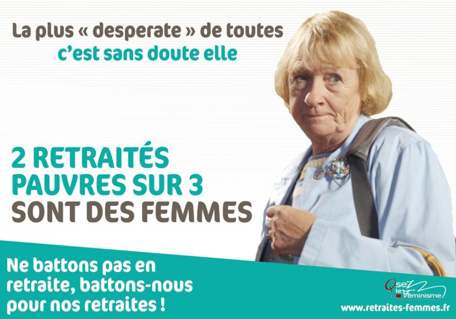 Réforme des retraite. D'avantage de femmes retraitées pauvres
