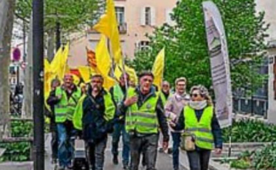 Nouvelle mobilisation des retraités avec l'appui des gilets jaunes