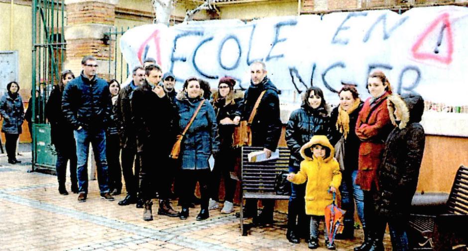 Rivesaltes. Mobilisation de parents devant l'école J.-S. Pons