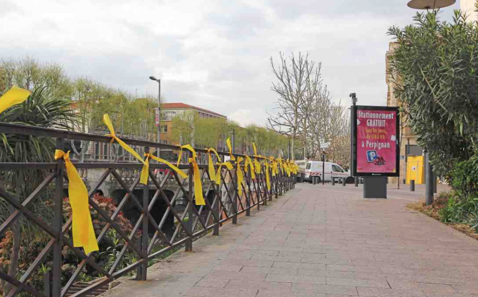 Pour la liberté des prisonnier politiques en Catalogne