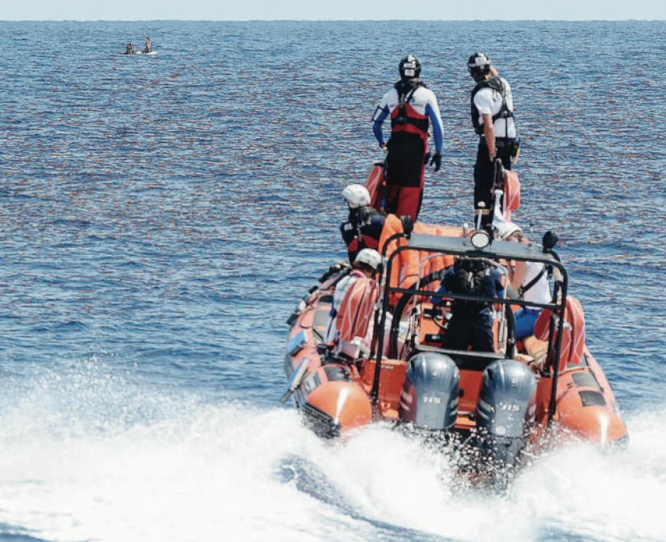 L'Aquarius sauve des vies sur sa route vers Marseille