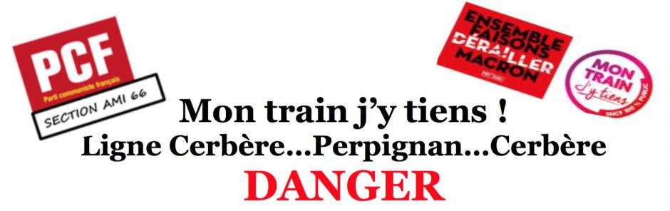 Ligne Cerbère/Perpignan/Cerbère : DANGER.