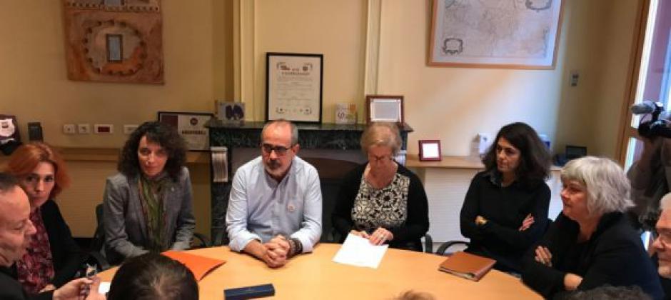Signature d'une convention de coopération entre lieux de mémoire liés à la Retirada situés en Catalogne nord et sud !