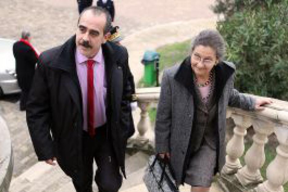 Le 7 décembre 2009, Simone Veil acceptait de devenir ambassadrice de la Maternité d'Elne