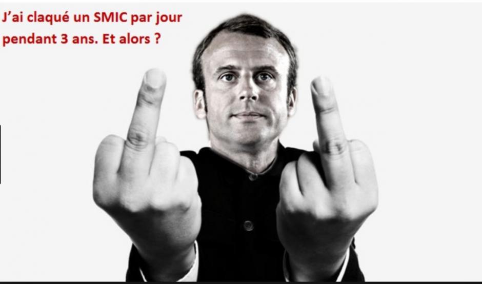 Scandale du SMIC. 100 euros payé par le peuple