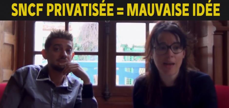 SNCF privatisée… Mauvaise idée…