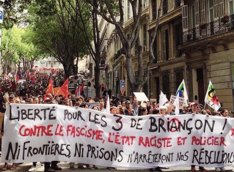 Trois citoyens incarcérés aux Baumettes pour délit de solidarité