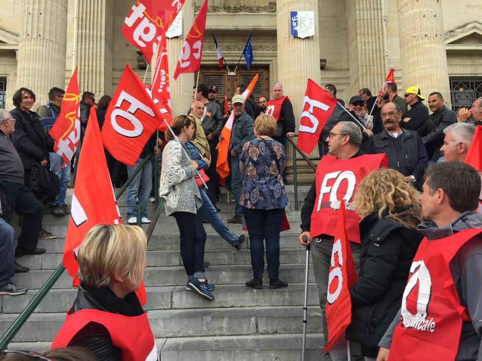 Perpignan. Les salariés grévistes jugés parce qu'ils défendent leurs droits.