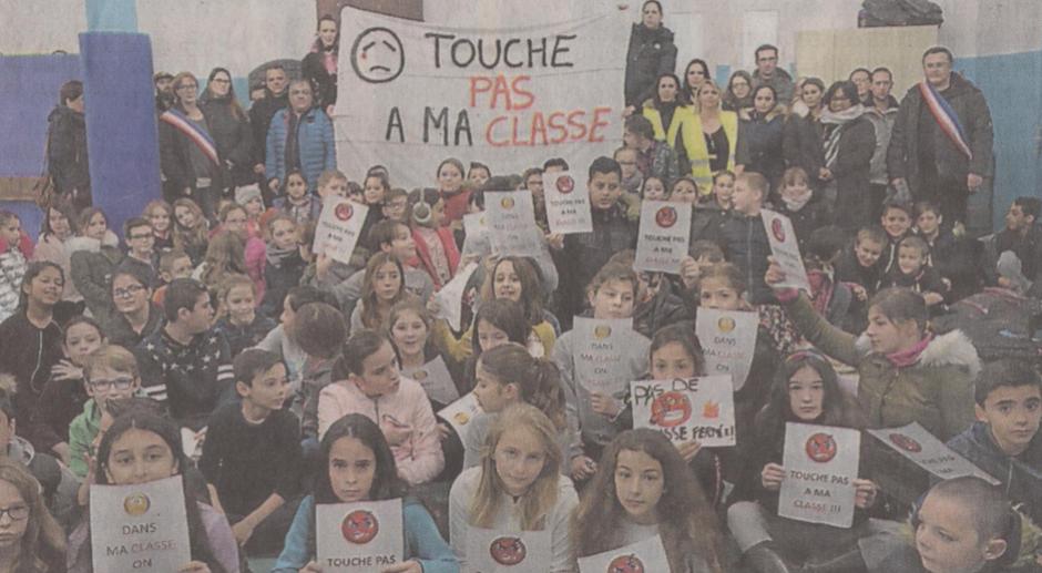 Saint-Cyprien. Parents, enseignants et élus mobilisés