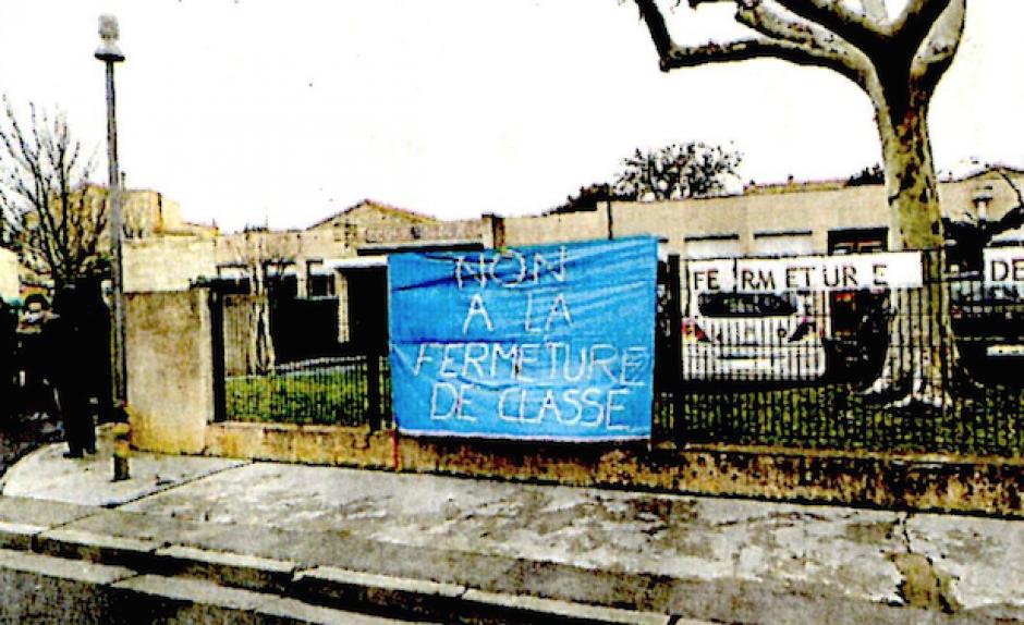 Saint-Laurent-de-la-Salanque. Fermeture d'une classe, aucun enfant à l'école hier