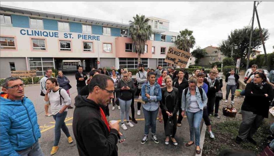 Hémorragie de patients à la clinique Saint-Pierre… La grève se poursuit à l'unanimité